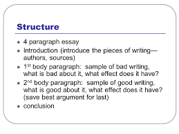 english ui orwell essay assignment tips learning goals we will  structure 4 paragraph essay introduction introduce the pieces of writing authors sources