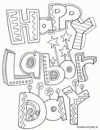 Small Picture Labor Day Coloring Pages Doodle Art Alley