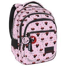 Disney Minnie Mouse Backpack Pink Simbashopnl