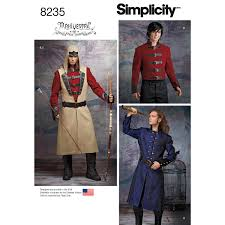 Costume Sewing Patterns Classy Simplicity 48 Men's Cosplay Costume Pattern
