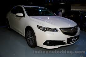 Acura TLX front right three quarter at the 2014 Moscow Motor Show ...