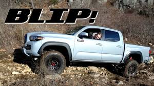 Here's How The 2017 Toyota Tacoma TRD Pro Fares Against A Jeep ...