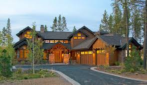 mountain house plans. mountain luxury with bridge balcony - 54204hu | architectural designs house plans p