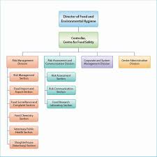 Organizational Chart Of A Food Service Establishment Organisation