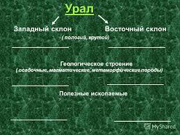 Презентация на тему Урал каменный пояс Земли Русской Нехаева Е  7 Урал