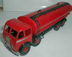 V V V Dinky Supertoys Foden 14 Ton Tanker 1st Type Cab In Rot No 504