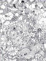 Small Picture Free Adult coloring pages Printable Art Therapy coloring pages