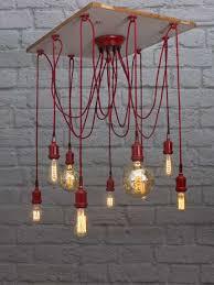 red spider 9 light chandelier