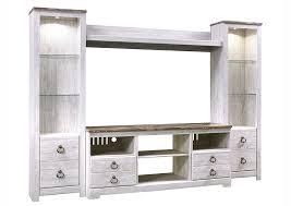 whitewashed furniture. Simple Furniture Willowton Whitewash Entertainment CenterSignature Design By Ashley In Whitewashed Furniture