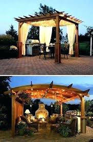 gazebo light ideas gazebo lighting ideas string lights great outdoor curtains and best on with solar hanging l amazing gazebo lights with