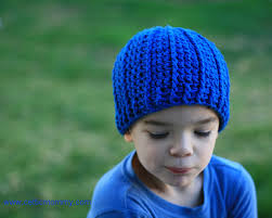 Free Crochet Hat Patterns For Toddlers Delectable CelticMommy Free Crochet Pattern Rib Wrapped Cap For Children