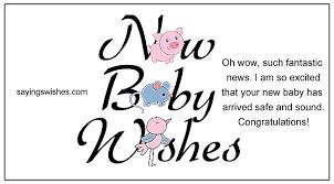 New Baby Wishes Newborn Baby Girl Quotes Baby Boy