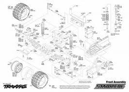 Traxxas 4 Tec 2 0 Gearing Chart Traxxas Slash 4x4 Parts Diagram Traxxas Slash 4x4 Parts