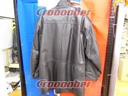 cuts size l rainbow leather jacket