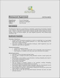 Fast Food Resume Sample Amazing Resume Fast Food Restaurant Ideas Professional Resume 92