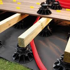Cales Terrasses Feutre Geotextile Pour Terrasse Deck Linea