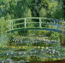 water lily pond painting claude monet water lily pond art painting