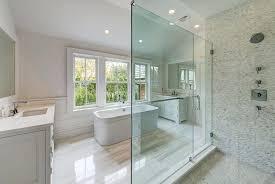 large marble tiles master bathroom with marble floors and tile shower large format marble tile backsplash