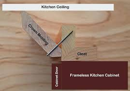 installing crown molding for dummies nice decoration how to install crown molding on kitchen cabinets attaching installing crown molding for dummies
