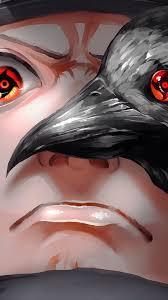 Shisui Uchiha Mangekyo Sharigan Crow 4K ...
