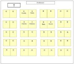 Seating Chart Maker For Teachers Classroom Seating Chart For High School Free Word Class
