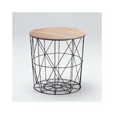black wire cage basket storage coffee