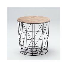 wire storage basket coffee table