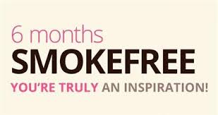 Image result for 6 months smoke free pic
