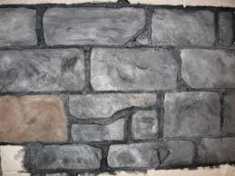 painted stone wallBrilliant Decoration Artificial Stone Wall Entracing 1000 Ideas