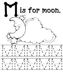Letter M Coloring Page Letter M Coloring Pages To Download And ...