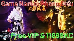 GAme Mobile Private Naruto Phong Điểu (185sy) | Free VIP | 11888KC