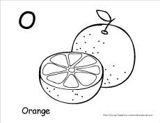 For kids & adults you can print alphabet or color online. Letter O Writing And Coloring Sheet