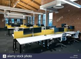 loft office furniture. Captivating Stock Photo Trendy Modern Open Concept Loft Office Space With Big Windows Natural Light And Furniture