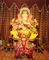 ganesh chaturthi simple decoration ideas at home