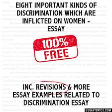 discrimination essays gattaca film review the theme of  essay writing tips to essay on discrimination against women essays on discrimination against women vancouver travel