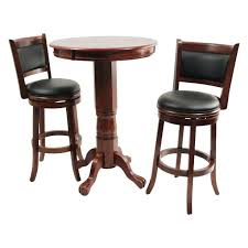 round pub table black wood pub table sets ina