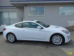 hyundai genesis 2014 white. Modren 2014 2014 Genesis Coupe 20T  Casablanca White  Premium Gray LeatherGray  Cloth Photo To Hyundai C