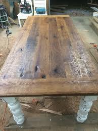 8 foot antique oak farmhouse table available now can ship asap
