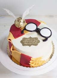 Harry Potter Birthday Cake Whipped Bakeshop