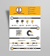 Infographic Resume Stunning Free Infographic Resume Design Template Ai File Good Resume