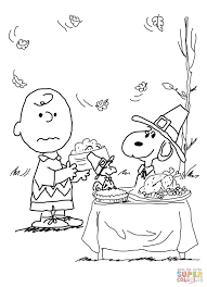 Small Picture Charlie Brown Thanksgiving Coloring Pages Free esonme