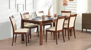 Glass top dining sets Extendable Dalla Vanalen 6to8 Extendable Dalla Seater Glass Top Dining Table Set Urban Ladder Vanalen To Glass Top Extendable Dining Table Urban Ladder