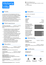 Resume Examples By Real People Health Care Specialist