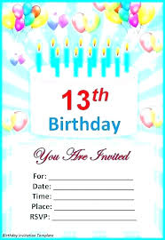 Party Invitation Template Free Online Toddler Birthday
