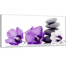 lavender canvas wall art uk