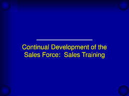 Sales Training Presentation Ppt