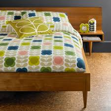 orla kiely green duvet covers