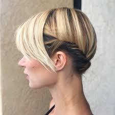 1 prom hairstyle for short hair in 2020