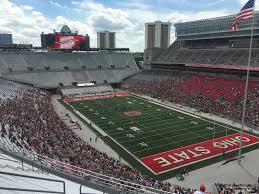 Ohio Stadium Seating Chart With Rows Ohio Stadium Section 10c Rateyourseats Com