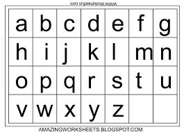 Printable Hieroglyphics Alphabet Chart
